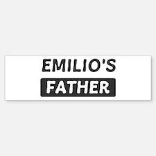Emilios Father Bumper Bumper Bumper Sticker