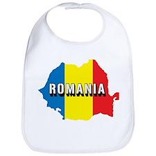 Map Of Romania Bib