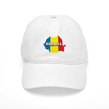 Map Of Romania Baseball Cap