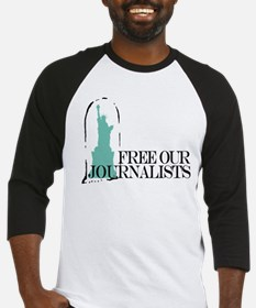 Free Our Journalists Baseball Jersey