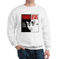 Foobie Jesus - Dramatic Kitty Sweatshirt