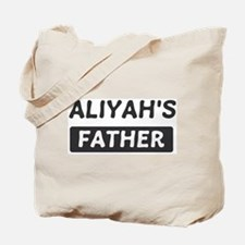 Aliyahs Father Tote Bag