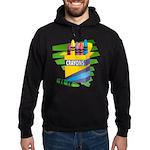 Crayons Hoodie (dark)