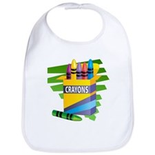 Crayons Bib