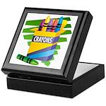 Crayons Keepsake Box