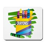Crayons Mousepad