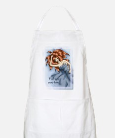 Wish you were here BBQ Apron