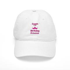 Cousin of the 1st Birthday Pr Baseball Cap