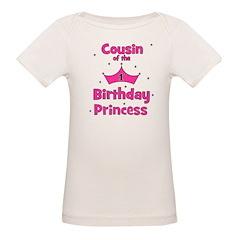 Cousin of the 1st Birthday Pr Tee