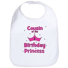 Cousin of the 1st Birthday Pr Bib