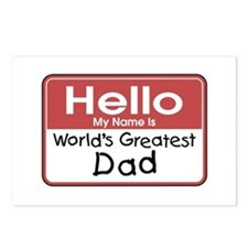 Greatest Dad Postcards (Package of 8)
