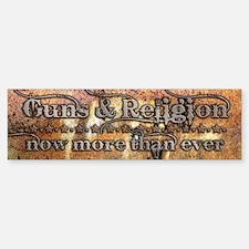 Guns & Religion Bumper Bumper Bumper Sticker
