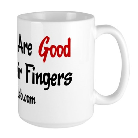 Good Fingers Large Mug