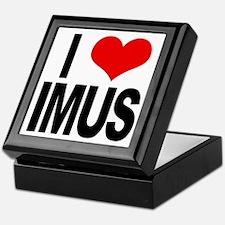I Love Imus Keepsake Box