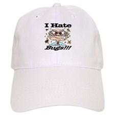 I Hate Bugs Baseball Cap