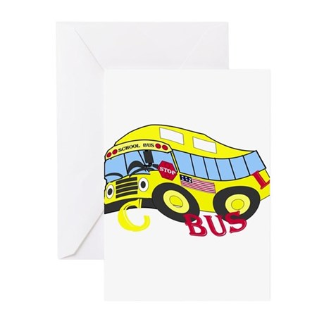 COOL BUS Greeting Cards (Pk of 10)