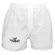 Unique Air force wifey Boxer Shorts