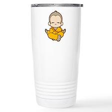 Cute Monkey Stainless Steel Travel Mug
