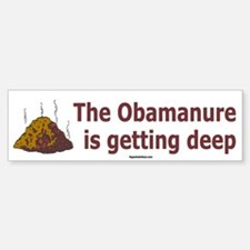 Obamanure Bumper Bumper Bumper Sticker