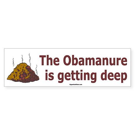 Obamanure Bumper Sticker