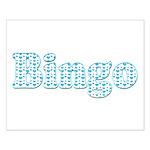 Bingo Hearts text Small Poster