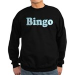Bingo Hearts text Sweatshirt (dark)