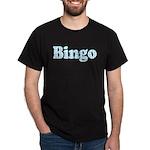 Bingo Hearts text Dark T-Shirt