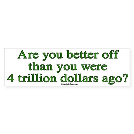 Are you better off now...