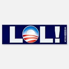 LOL Obama Bumper Bumper Bumper Sticker