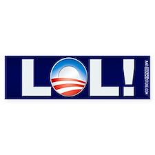 LOL Obama Bumper Bumper Sticker