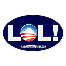 LOL Obama Oval Decal