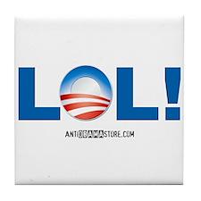LOL Obama Tile Coaster
