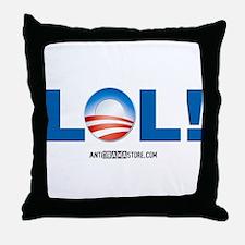 LOL Obama Throw Pillow