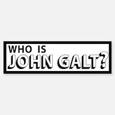 Who is John Galt Bumper Bumper Bumper Sticker