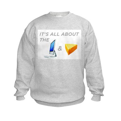 Mac & Cheese Kids Sweatshirt