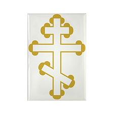 Orthodox Plain Cross Rectangle Magnet