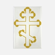 Orthodox Plain Cross Rectangle Magnet
