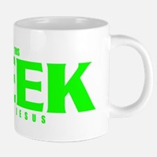 This Geek Has Jesus.png 20 oz Ceramic Mega Mug