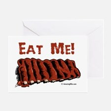 Cool Bbq ribs Greeting Card