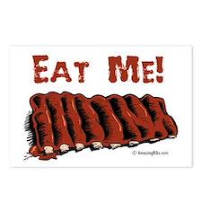 Cute Meat humor Postcards (Package of 8)