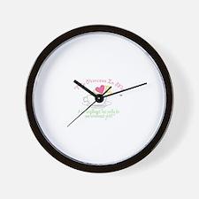 The Princess in Me Wall Clock