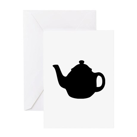 tea pot Greeting Card