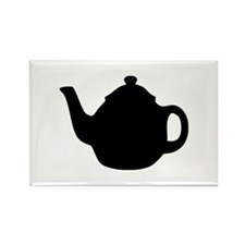 tea pot Rectangle Magnet