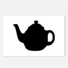 tea pot Postcards (Package of 8)