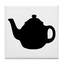 tea pot Tile Coaster