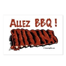 Cool Bbq ribs Postcards (Package of 8)