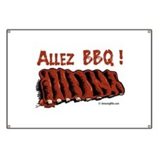 Cute Barbecue Banner