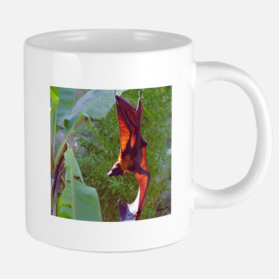 (7)Sunning Fruit Bat.PNG 20 oz Ceramic Mega Mug