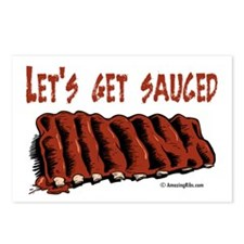 Cute Bbq sauce Postcards (Package of 8)