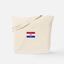 Cute Croatia flag Tote Bag